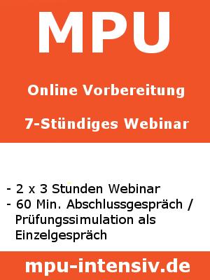 Bild MPU Online Vorbereitung